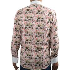 Patterned Dress Shirts Beauteous Evening Dress Shirts For Men Claudio Lugli Bow Tie Shirt