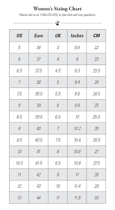 Bearpaw Boots Size Chart Sizing Size Charts Bearpaw Com