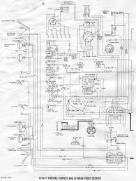 Fordmanuals 1970 colorized mustang wiring diagrams ebook pontiactempestandlemans1970 1971frontsectionwiringdiagram large size