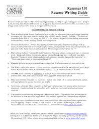 rules for resumes