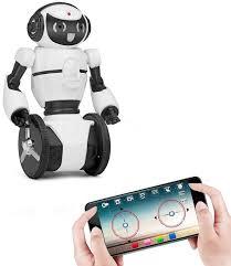 Белый <b>робот WL toys</b> F4 c WiFi FPV камерой, управление через ...