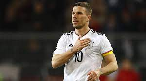 Podolski was part of germany's 2014 world cup campaign. Germany V England International Friendly Game Podolski Signs Off In Style With Winning Goal As Com