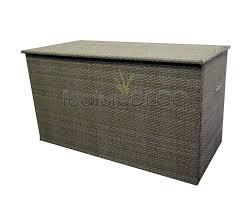medium size of crosley palm harbor outdoor wicker storage bin brown large box decorating inspiring rattan