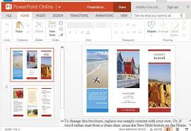 Brochure Maker Befunky Free Online Templates Trifold