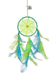 What Were Dream Catchers Used For Interesting Amazon Rooh Dream Catcher Neon Green Blue Handmade