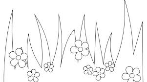 Small Picture Grass Coloring Page Simply Simple Grass Coloring Pages at Best All