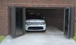 folding garage doorsSliding Glass Garage Doors And Garage Door Open Insulated Garage