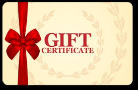 Gift Certificate Eda Frames