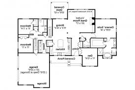 Simple Open Ranch Floor Plans Style Plan Ideas As Well House Moreover B:  Full ...
