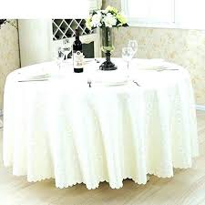 how to fit a square tablecloth on round table cloth for hotels 60 t