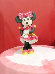 How to Make Standing Minnie Mouse Fondant Cake Topper Snapguide