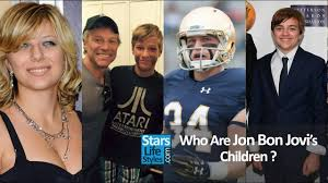 It consists of singer jon bon jovi, keyboardist david bryan, drummer tico torres. Who Are Jon Bon Jovi S Children 1 Daughter And 3 Sons Bon Jovi Singer Youtube