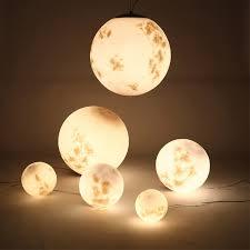 new creative moon light ball d25 d30cm d50cm d60cm moon light lamp for