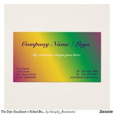 tie dye business cards tie dye gradient 1 sided business card template business cards