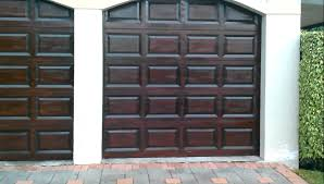 unique garage doors rich mahogany gel stain wood finish you stained os02