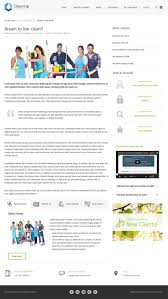 clean joomla template joomla monster jm cleaning company single article