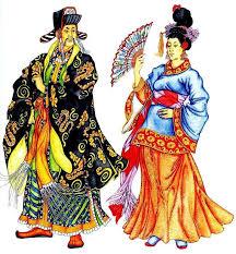 Костюм Древнего Китая мужской и женский костюм Древнего Китая