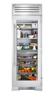 30 glass door refrigerator column