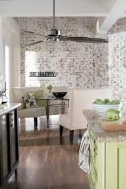 with whitewashed brick walls
