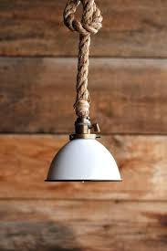 light the barn pendant light industrial rope lighting swag ceiling lamp accent hanging lights pottery