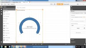 Qlik Sense Gauge Chart Salesforce Qliksense Integration Building Gauge Chart Using Salesforce Data