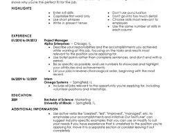 Comfortable Resume Verbs Present Tense Gallery Example Resume