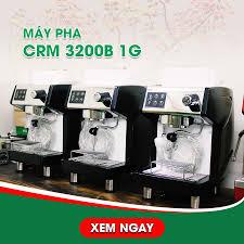 Combo máy pha cà phê CRM 3200 + Máy xay HC600
