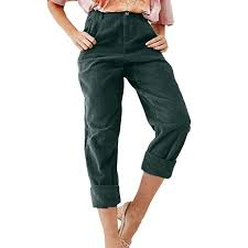 Fly Pants Size Chart Iyyvv Women Corduroy Fashion Solid Full Length Button Fly Pants Pocket Slim Fit Trouser