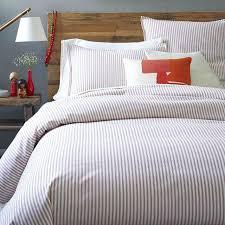 blue ticking duvet covers striped duvet covers designer bedding for attractive house ticking stripe blue blue