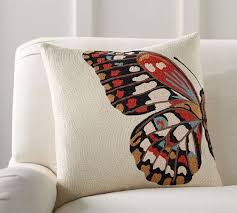 Crewel Pillow Covers