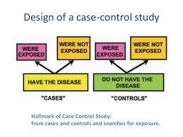case control studies  8 design of a case control study