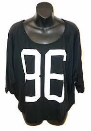 Nwt Victorias Secret Pink 86 T Shirt Top Black White