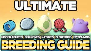 Pokemon Nature Chart Sun And Moon Ultimate Breeding Guide Ivs Evs Natures Egg Moves Pokemon Ultra Sun And Moon Austin John Plays