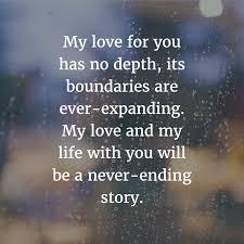 My Love For You Quotes Mesmerizing Best 48 Anniversary Quotes For Him Her
