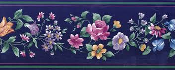 Flower Wall Paper Border 5 Secrets How To Use Flower Wallpaper Borders To Create A Beautiful
