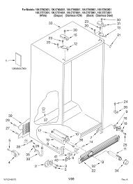 3348 refrigerator parts kenmore side by side refrigerator parts 404040 4623