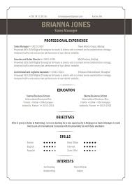 Best Resume Format To Use The Best Resume Format Out There Straight