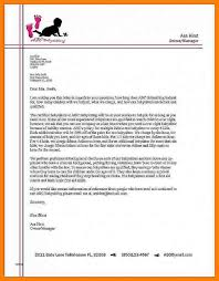 Business Correspondence Letters Examples 8 Example Of Business Letter For Students Cains Cause