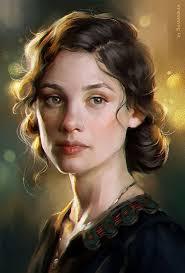Digital Portrait Painting Painting Faces Portrait Art 3d Painting Digital Portrait Female