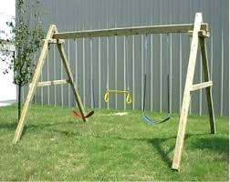 wood swing set plans do it yourself wood swing set kits simple wooden supreme plans do