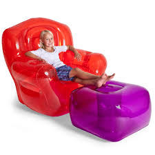 ... Marvelous Room Decoration Ideas With Inflatable Chairs For Kids  Interior Design : Wonderful Red Plastic Bubble ...