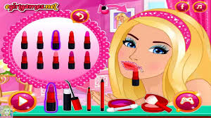 barbie lady in red barbie makeup and dress up games for s