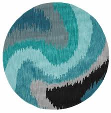 lr02511 bl5rnd fashion blue wave 5 x 5 round