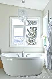 mini chandelier for bathroom chandelier over bathtub crystal chandelier over tub contemporary bathroom veranda interiors mini