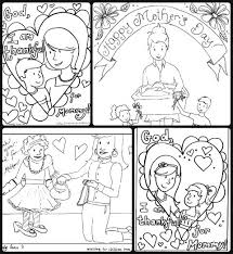 Small Picture Mothers Day Download 4 free coloring sheets in one PDF