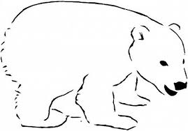 Small Picture Awesome Polar Bear Coloring Pages Printable Gallery Printable