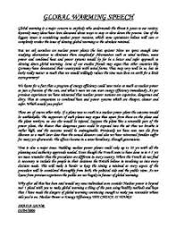 introduction examples for informative essays on global warming  global warming short essay for school my speech class