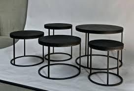 side table tall black gloss side table tall black side table round black belgian oak