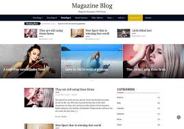 Newspaper Web Template Free Best Free Magazine Templates 2018 The Bootstrap Themes