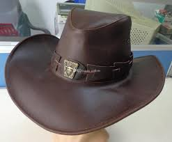 fashion leather western cowboy hats sun hat womens mens tourist caps for travel outdoor performance hat